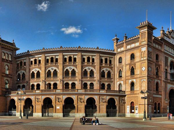 Les arènes de Madrid - MSDV