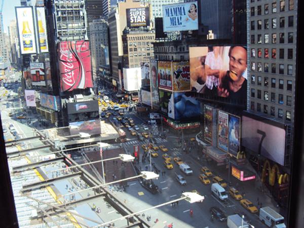 Times Square à New York - mes Souvenirs de Voyage - blog voyage MSDV