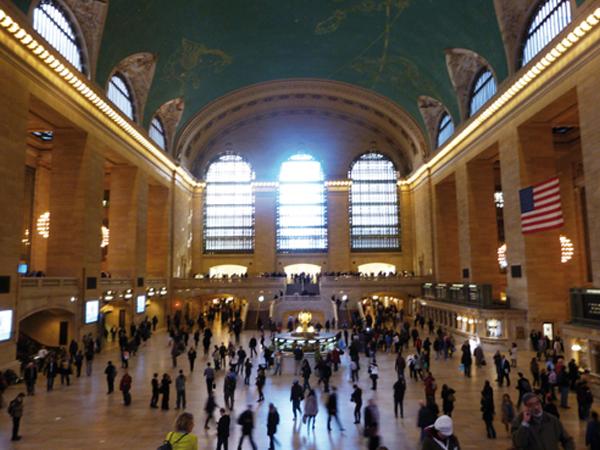 Vivre le rêve américain en arrivant à Grand Central à New York - mes Souvenirs de Voyage