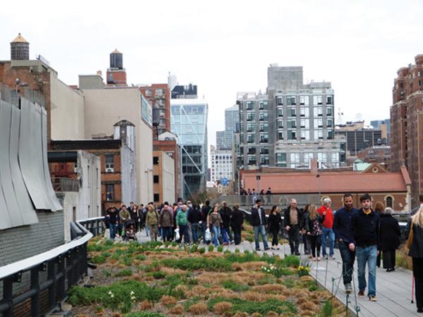 la Highline de New York - parc urbain - mes Souvenirs de Voyage