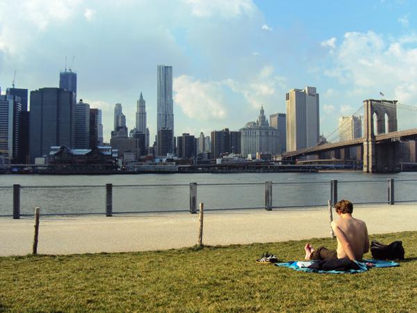 parc de Brooklyn Bridge - mes Souvenirs de Voyage