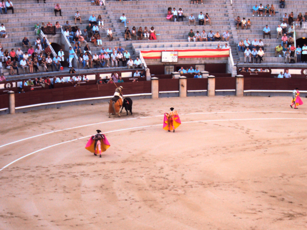 spectacle corrida arene madrid - MSDV