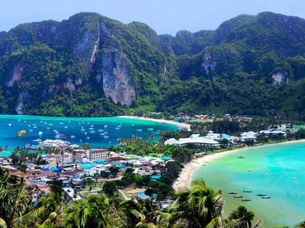 île de Koh Phi Phi en Thailande - MSDV
