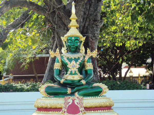 Bouddha émeraude Bangkok Thailande - MSDV