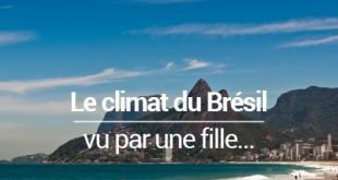 Climat Brésil vu par une fille - MSDV