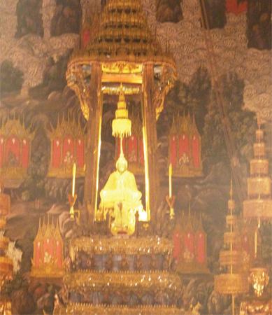 bouddha emeraude bangkok thailande - mes souvenirs de voyage
