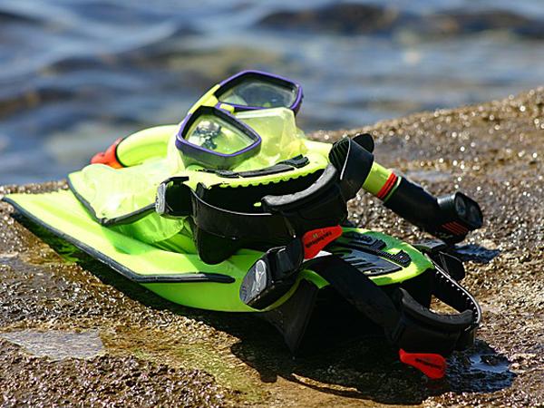 masque tuba palmes equipement pour plonger MSDV