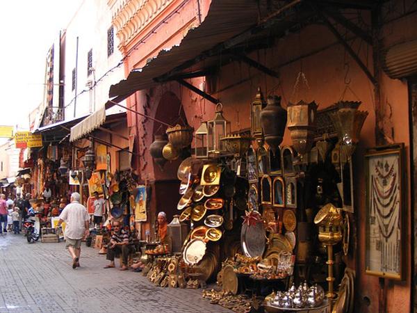 Entrée Souks Maroc - MSDV