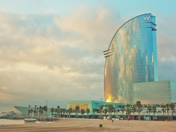 Hotel W de Barcelone - MSDV