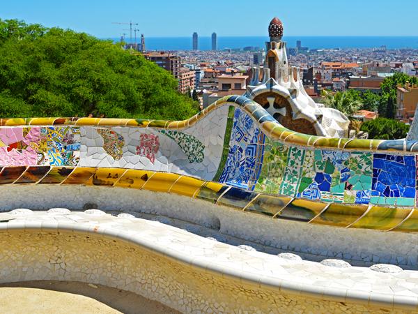 Parc Güell Barcelone de Gaudí - MSDV