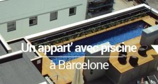 appart piscine barcelone - MSDV