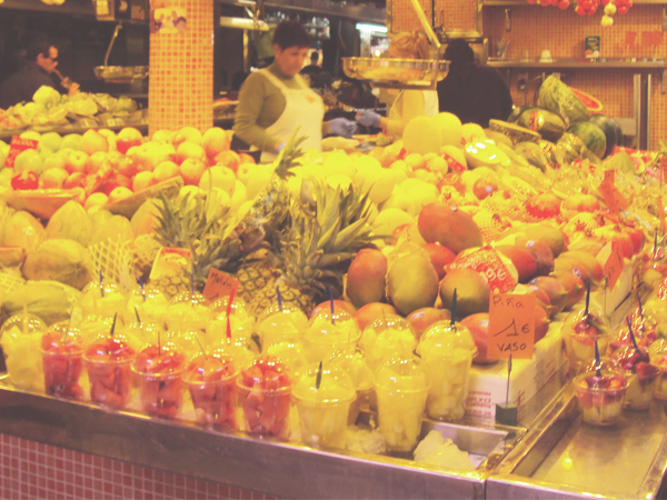 fruits boqueria barcelone - MSDV