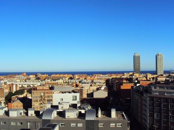 vue sur barcelone - MSDV