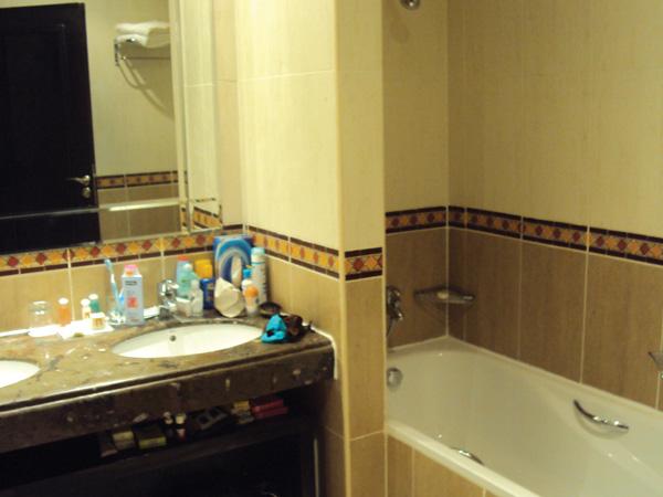 Hotel 5 etoiles Maroc salle de bain