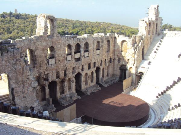 Theatre d'Herode Atticus Athenes