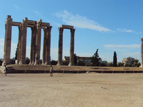 temple de Zeus Athenes Grece