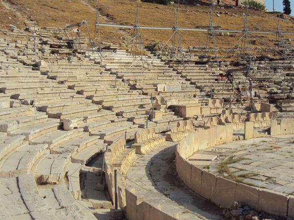 theatre de Dionysos Athenes Grece