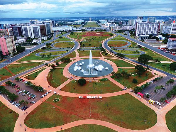 Brasilia vue depuis la tour de la TV