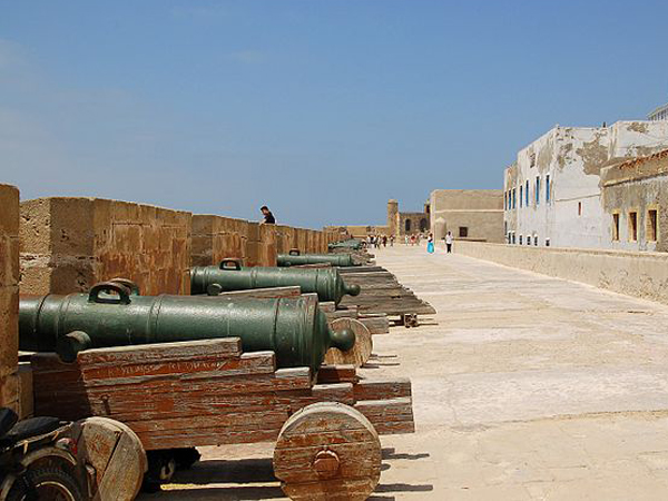 Canons Essaouira Maroc