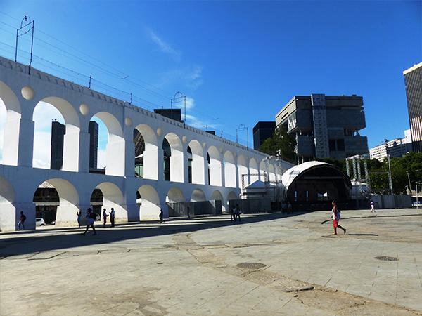 Quartier de Lapa à Rio de Janeiro Bresil