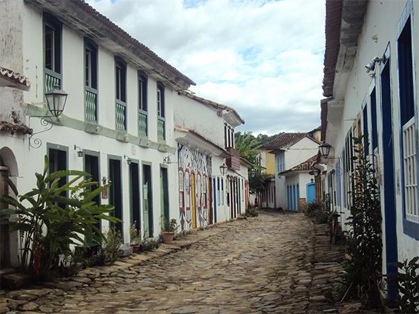Rue de Paraty Brésil