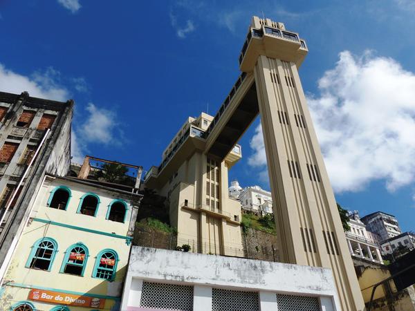 Ascenseur Lacerda Salvador de Bahia BRESIL