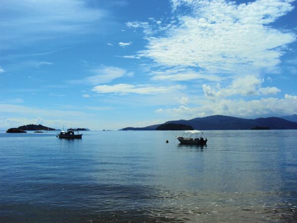 Baie de Paraty Bresil