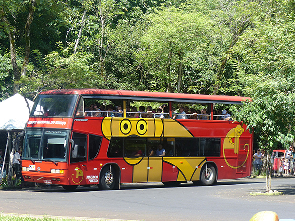 Bus Parc Iguazu Bresil