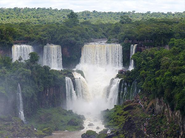 Chutes d'Iguazu cote bresilien