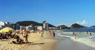 Ipanema plage Rio Bresil