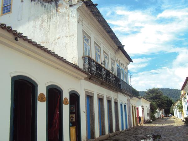 Paraty centre ville historique