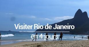 Visiter Rio de Janeiro (Brésil) en 4 jours