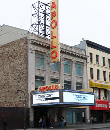 Apollo Theater Harlem New York