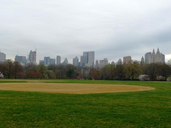 Central Park Zone de sport NewYork Manhattan MSDV