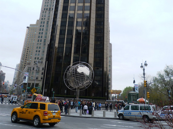 Colombus Circle NewYork Manhattan MSDV
