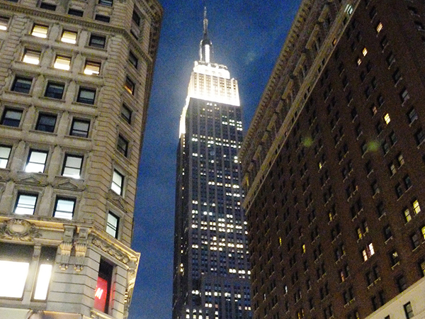 Empire State Building à Manhattan New York