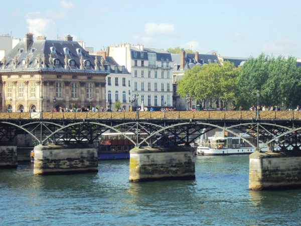 Le Pont des Arts à Paris