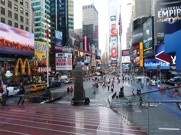 Marches de Times Square