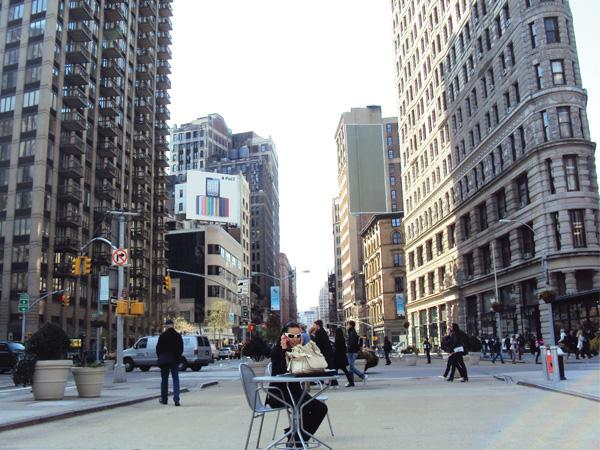 Place Flatiron Building NewYork Manhattan MSDV