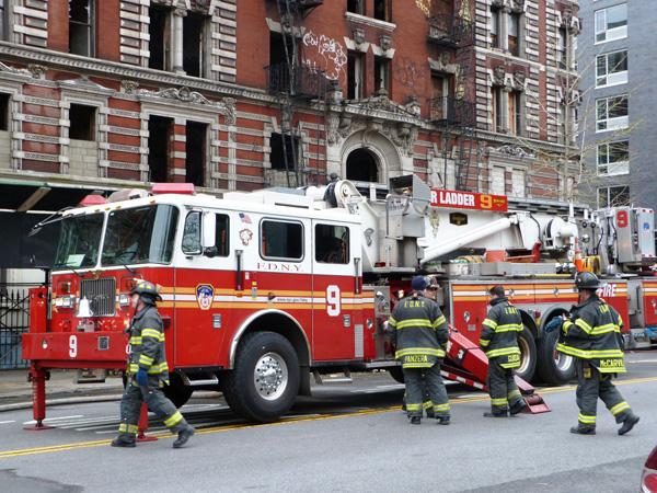 Pompiers NewYork Manhattan MSDV