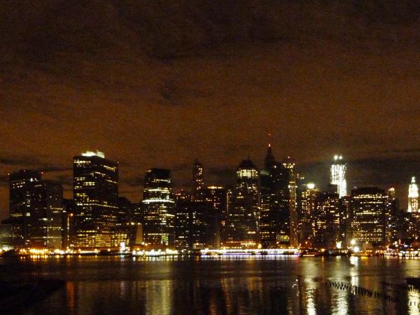 Skyline nuit NewYork Manhattan MSDV