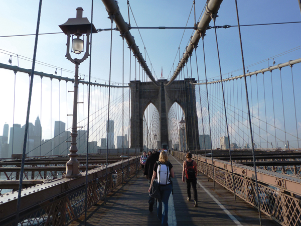 Brooklyn Bridge New-York NYC USA Manhattan Mes Souvenirs de Voyage Visiter New York en 6 jours