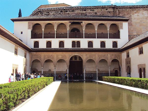 Palais Nasrides Grenade Andalousie Espagne MSDV