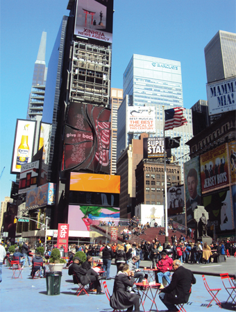 Times Square New-York NYC USA Manhattan Mes Souvenirs de Voyage Visiter New York en 6 jours