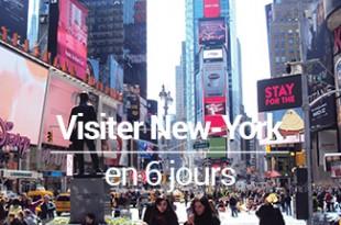 Visiter New York en 6 jours - programme - Mes Souvenirs de Voyage