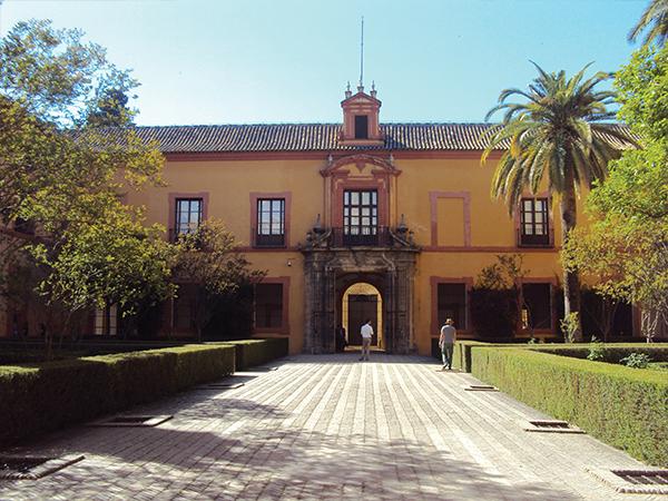Alcazar Seville interieur blog voyage MSDV