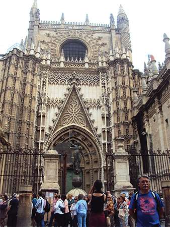 Cathedrale visiter Seville blog voyage MSDV
