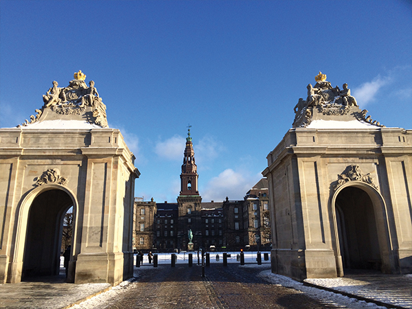Chateau Christiansborg exterieur MSDV