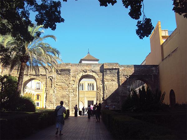 Entree Alcazar Seville Visiter Andalousie MSDV