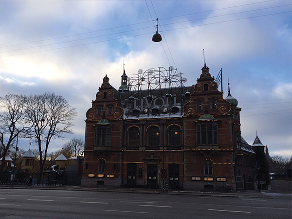 Entree du parc Tivoli MSDV Copenhague
